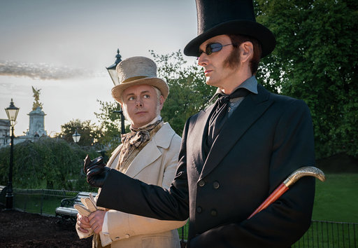 Two Good Omens tie-in books set for release