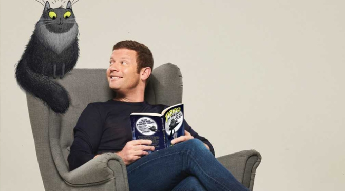 Dermot O'Leary's writing more Ninja Cat tales