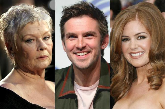 Judi Dench, Dan Stevens to star in Blithe Spirit