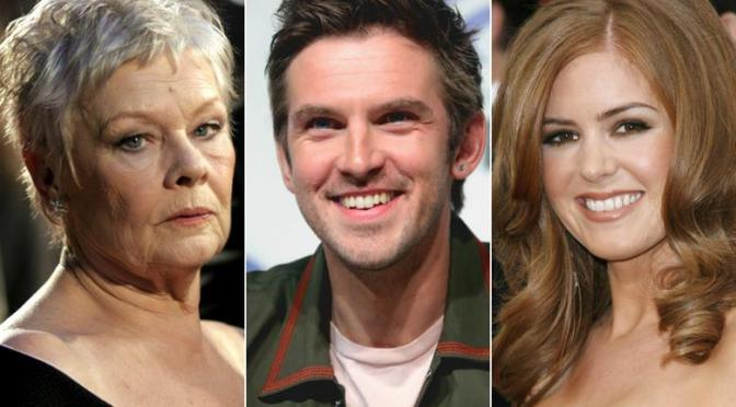 Judi Dench, Dan Stevens to star in Blithe Spirit