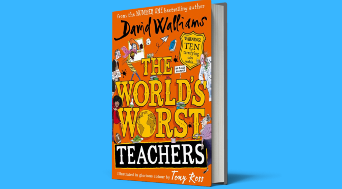 David Walliams promotes latest book