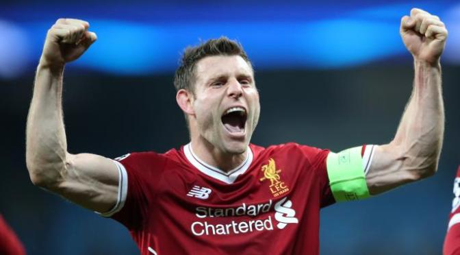 James Milner signs book deal