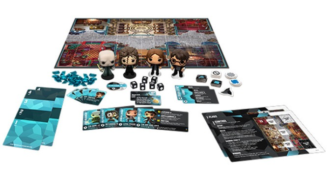 Funko Pop launches Harry Potter board game