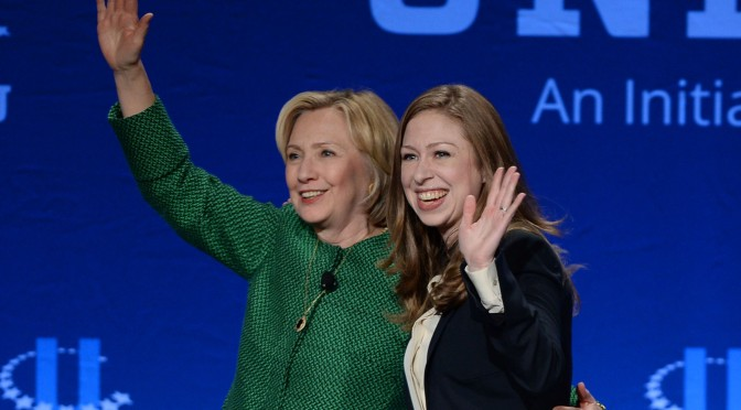 Hillary and Chelsea Clinton write about Gutsy Women