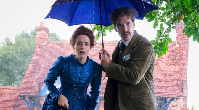 First look: Cumberbatch and Foy in Louis Wain