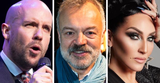 Graham Norton, Michelle Visage, Tom Allen to host West End Bares