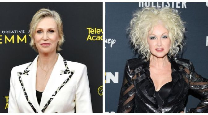 Jane Lynch, Cyndi Lauper working on 'Golden Girls for today'