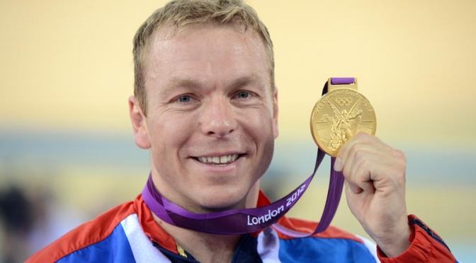 Sir Chris Hoy aims to inspire younger readers