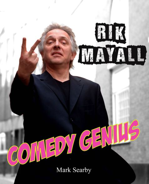 Rik Mayall Book front cover complete-01