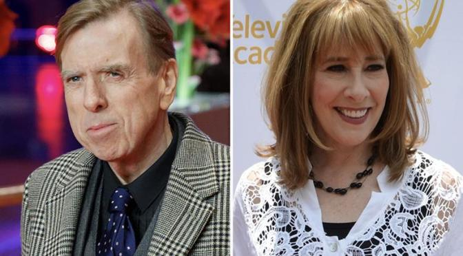 Timothy Spall, Phyllis Logan catch The Last Bus