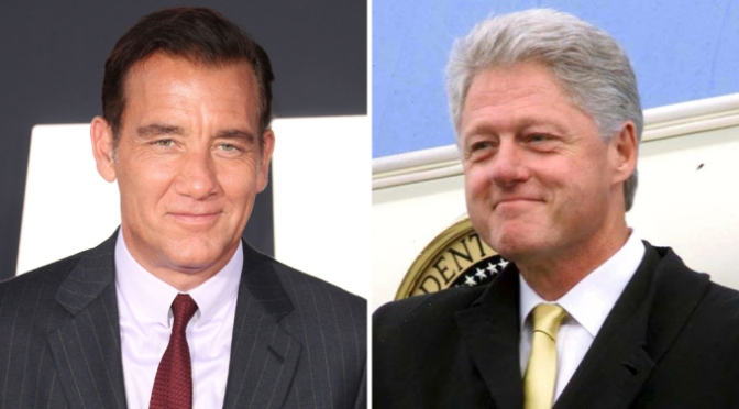 Clive Owen tapped to play Bill Clinton