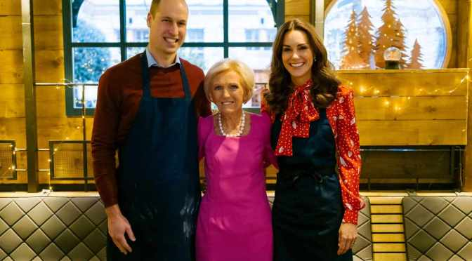 First look: Kate, William and Mary in the kitchen