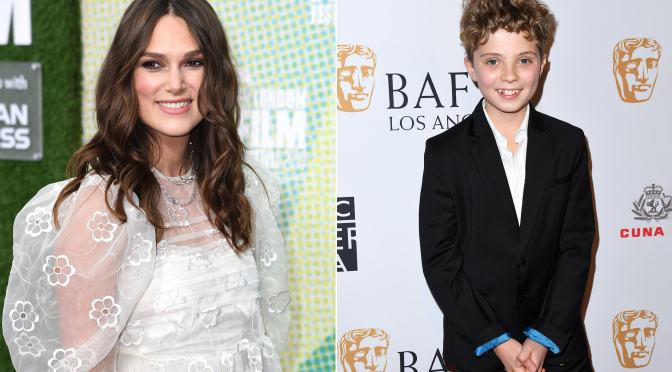 Keira Knightley, Roman Griffin Davis to celebrate Christmas