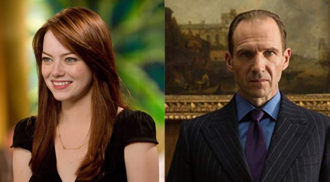 Emma Stone and Ralph Fiennes in talks for Matilda The Musical