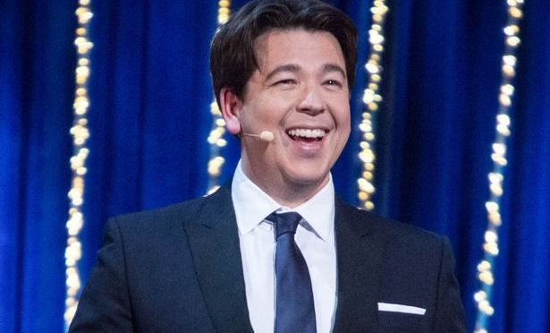 Michael McIntyre is recording a Netflix special