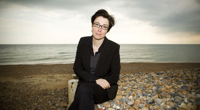 Sue Perkins heads off on her travels for Netflix